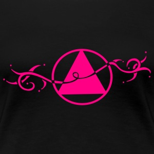 Unisex Recovery and Sobriety Symbol Women's T-Shirts - Women's Premium T-Shirt