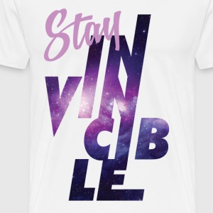 Stay invincible - Men's Premium T-Shirt
