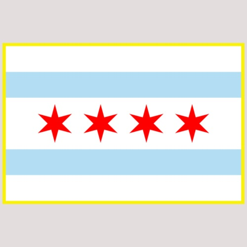 Flag of Chicago Stars and Stripes