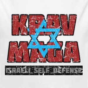 Israeli Krav Maga Magen David - Long Sleeve Baby Bodysuit