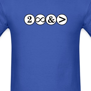 To Infinity And Beyond - Men's T-Shirt