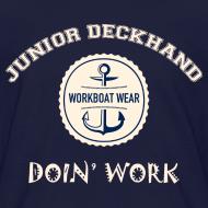 Design ~ Junior Deckhand Doin' Work