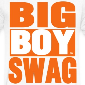 BIG BOY SWAG - Men's V-Neck T-Shirt by Canvas