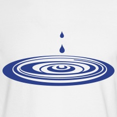 drops in the water_g1 Long Sleeve Shirts