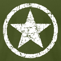 Vintage Army Star T-Shirts