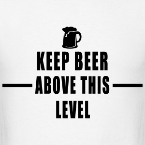BEER LEVEL T-Shirts - Men's T-Shirt