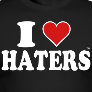I LOVE HATERS Long Sleeve Shirts - Men's Long Sleeve T-Shirt by Next Level