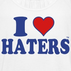 I LOVE HATERS Tanks