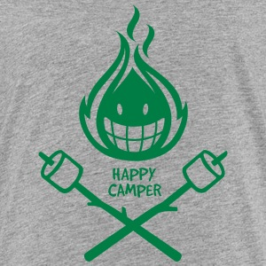Happy Camper 1-color Kids' Shirts - Kids' Premium T-Shirt