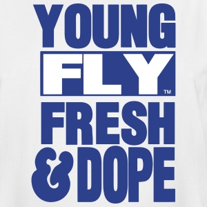 YOUNG FLY FRESH & DOPE T-Shirts - Men's Tall T-Shirt