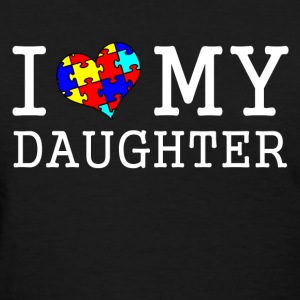 i_love_my_autistic_daughter Women's T-Shirts - Women's T-Shirt