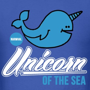 narwhal_unicorn_of_the_sea T-Shirts - Men's T-Shirt