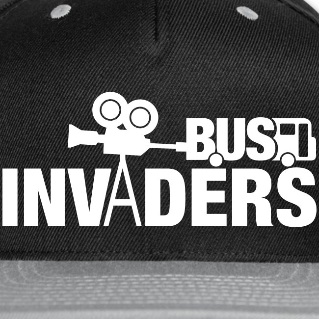Bus Invaders Snapback Hat