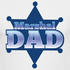 Marshal DAD with sheriff badge Long Sleeve Shirts