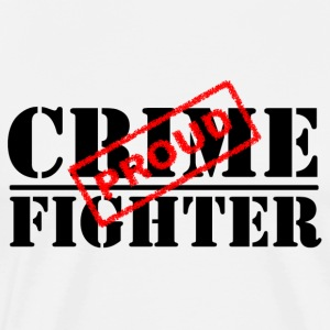 Proud Crime Fighter T-Shirts - Men's Premium T-Shirt