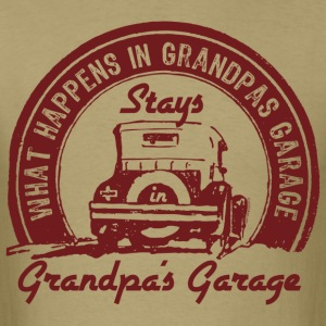 Grandpa's Garage T-Shirts - Men's T-Shirt