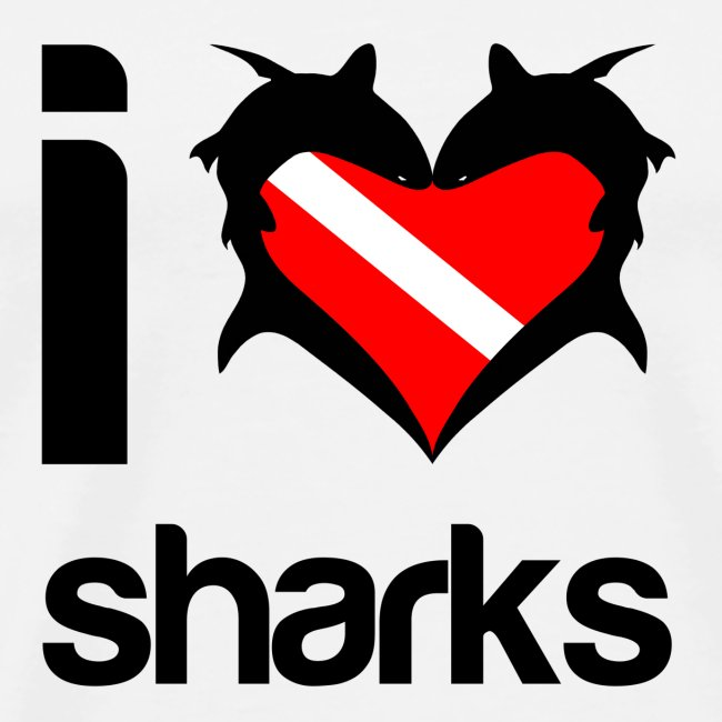 I Love Sharks T-Shirt