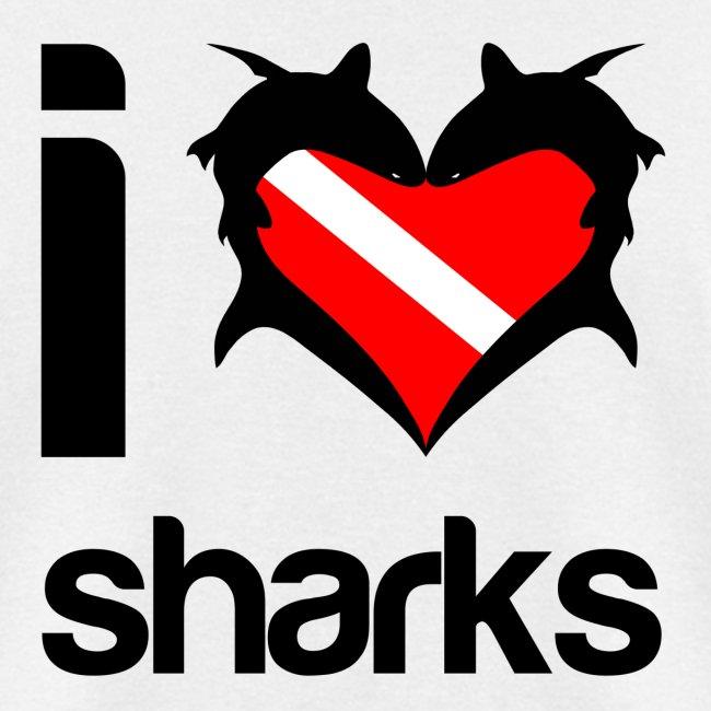 I Love Sharks T-Shirt-