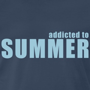 addicted to summer T-Shirts - Men's Premium T-Shirt