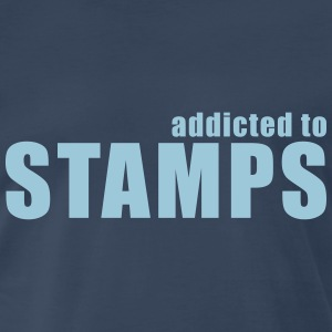 addicted to stamps T-Shirts - Men's Premium T-Shirt