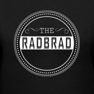 Design ~ Women's TheRadBrad Logo V-neck