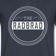 Design ~ Men's TheRadBrad Logo V-neck