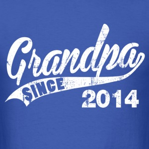grandpa_since_2014 T-Shirts - Men's T-Shirt