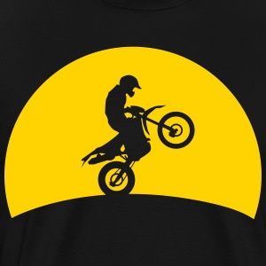 Enduro Cross in sunset Shirt - Men's Premium T-Shirt