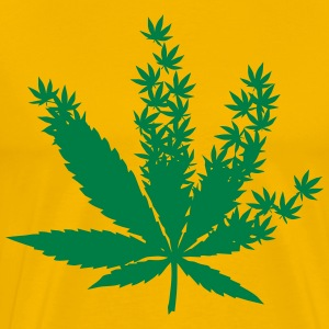Cannabis from cannabis leaves Shirt - Men's Premium T-Shirt