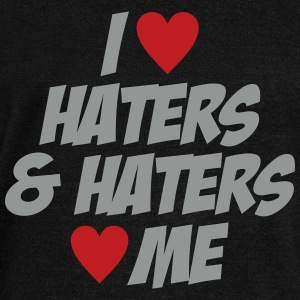 I Love Haters & Haters Love Me - Women's Wideneck Sweatshirt