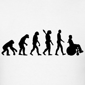 Evolution Wheelchair T-Shirts - Men's T-Shirt