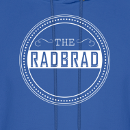 Design ~ Men's TheRadBrad Logo Hoodie