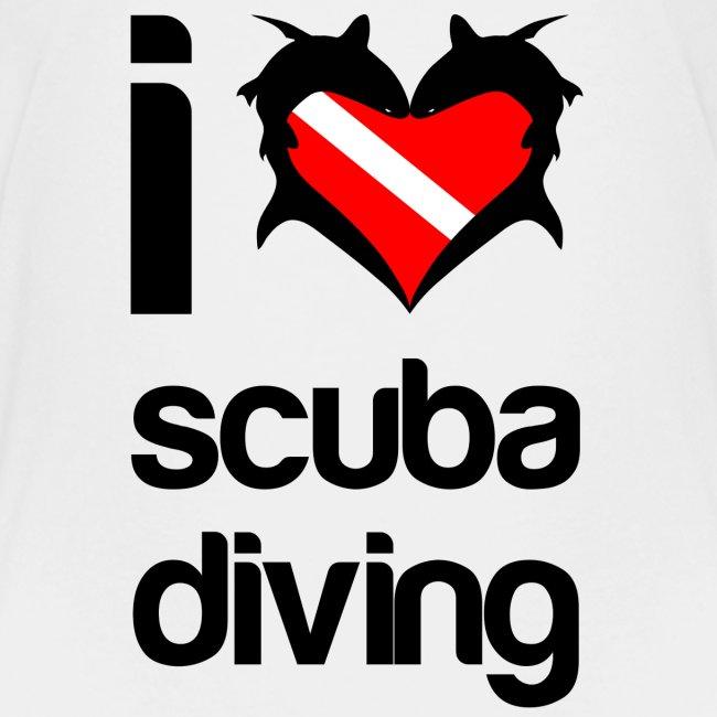 I Love Scuba Diving T-Shirt