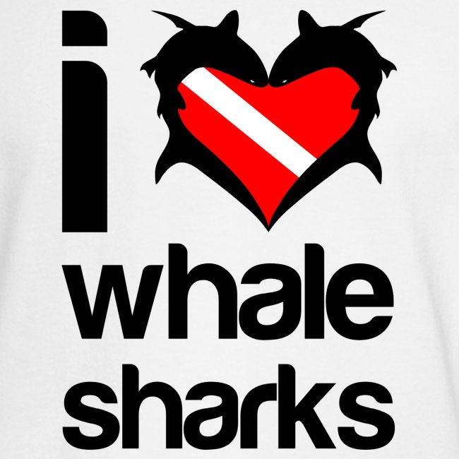 I Love Whale Sharks T-Shirt