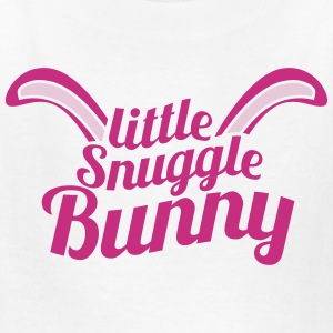 cute little snuggle bunny with ears Kids' Shirts - Kids' T-Shirt
