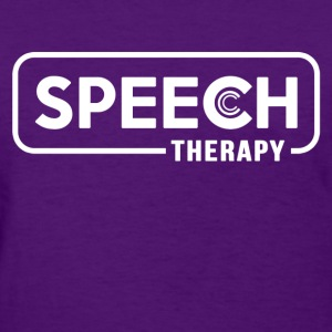 speech_therapy Women's T-Shirts - Women's T-Shirt