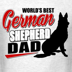 german_shepherd_dad T-Shirts - Men's T-Shirt