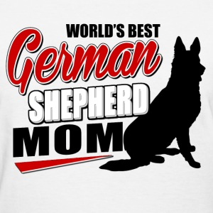 german_shepherd_mom Women's T-Shirts - Women's T-Shirt