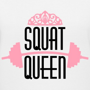 Squat Queen Women's T-Shirts - Women's V-Neck T-Shirt