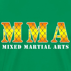Mixed Martial Arts Net T-Shirts - Men's Premium T-Shirt