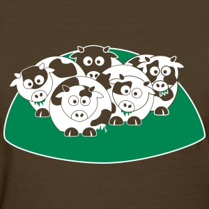 Moo Cows! - Women's T-Shirt