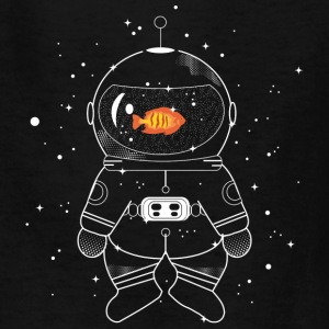 Astronaut with goldfish  Kids' Shirts - Kids' T-Shirt