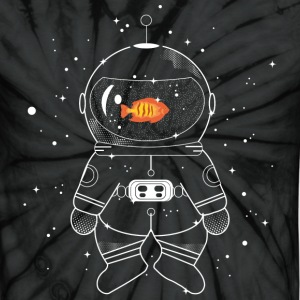 Astronaut with goldfish  T-Shirts - Unisex Tie Dye T-Shirt