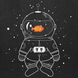 Astronaut with goldfish  Bags & backpacks - Tote Bag