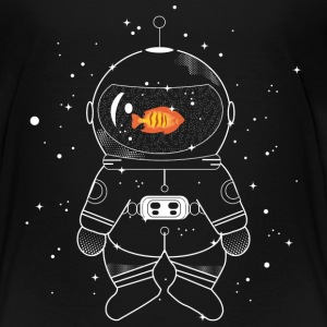 Astronaut with goldfish  Baby & Toddler Shirts - Toddler Premium T-Shirt