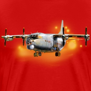 Transport aircraft Antonov-12 T-Shirts - Men's Premium T-Shirt