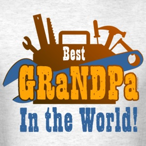 Tools Best Grandpa T-Shirts - Men's T-Shirt