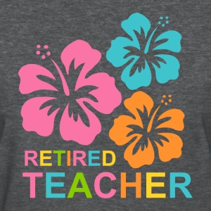 Hibiscus Retired Teacher Women's T-Shirts - Women's T-Shirt