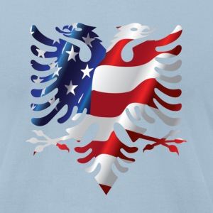 Albanian American Eagle T-Shirts - Men's T-Shirt by American Apparel