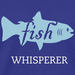 fish (text, 1c) T-Shirts - Men's Premium T-Shirt